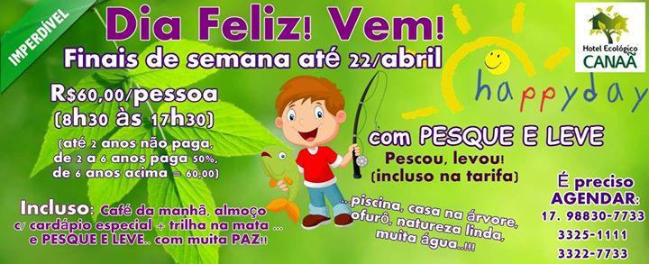 HAPPY DAY – Hotel Ecológico Canaã