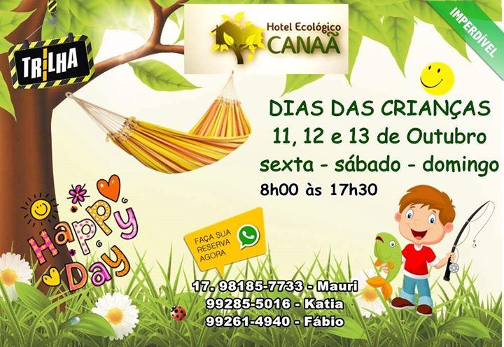DIAS DAS CRIANÇAS NA ESTÂNCIA CANAÃ 11, 12 e 13 de Outubro ️️CORRE, VEM! sexta…