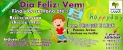 HAPPY DAY – Hotel Ecológico Canaã Programação de Alegria e Paz! DIA FELIZ! A P…