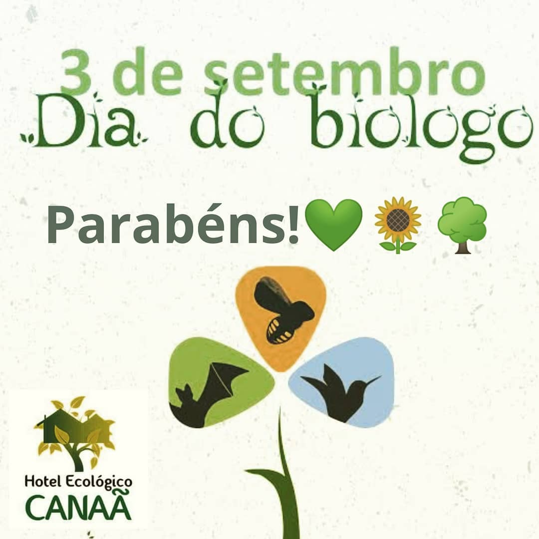 Parabéns! 3 de Setembro – Dia do Biólogo Queremos homenagear nosso amado fundad…