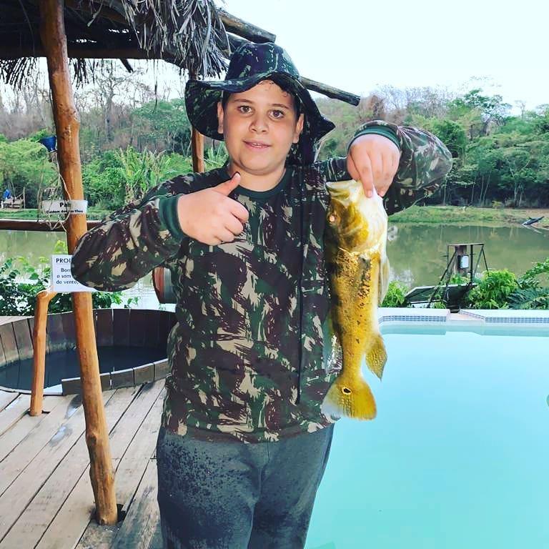 Aqui é bão demais! #pesca #hotelecologico #hotelecologicocanaã #barretos
