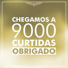 OBRIGADOOO!!  9000 CURTIDAS EM NOSSA PÁGINA!! VOCÊS SÃO MARAVILHOSOS!